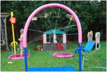 backyard water park for kids